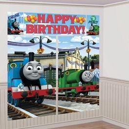 Thomas U0026 Friends Wall Scene Kit   Partyland   New Zealandu0027s Birthday Party  Supplies Specialist
