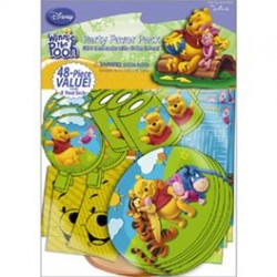 Pooh Bear Party Favor Pack