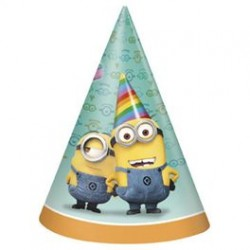 Despicable me party hats