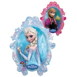 Disney Frozen Party Jumbo Anna/Elsa Mirror Foil Balloon