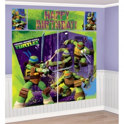 TMNT - Scene Setter Wall Decorating Kit