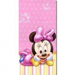 Minnie 1st Birthday table cover
