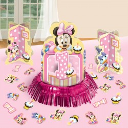 Minnie 1st Birthday table decorating kit