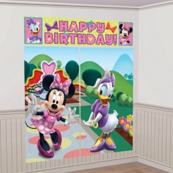 Minnie Mouse Wall Scene Setter