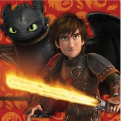 How to Train Your Dragon - Napkins 13""