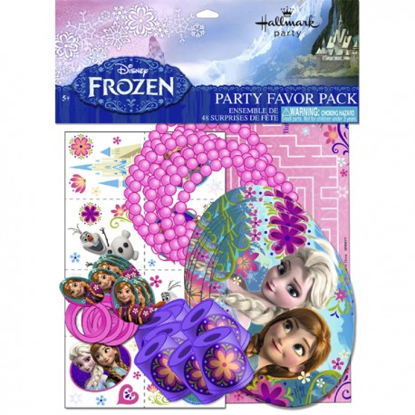 Frozen Favour Pack
