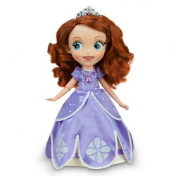 Sofia the first singing/talking doll