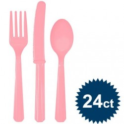 Pale Pink Cutlery Set
