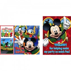 Mickey Mouse Invite-Thank you