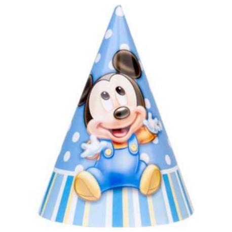 Mickeys 1st Birthday Party Hats