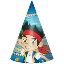 Jake & Neverland Pirates Party Hats