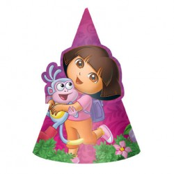 Dora the Explorer Cone Party Hats