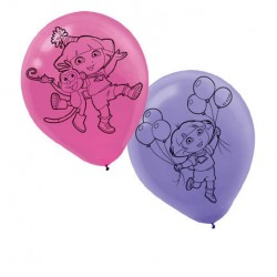 Dora the Explorer Latex Balloons