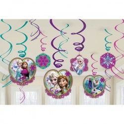 Frozen Swirls Decorating Kit