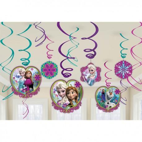Frozen Swirls Decorating Kit