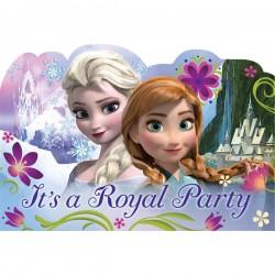 Frozen Large Postcard Invitations