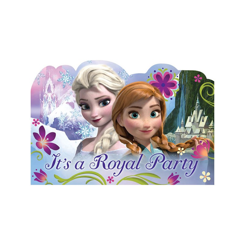 Disney Frozen Party Invitations