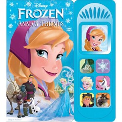 Disney Frozen Party Anna's Friends Sound Book