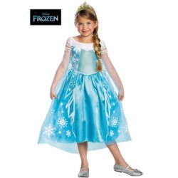 Disney Frozen Party Deluxe Elsa Costume