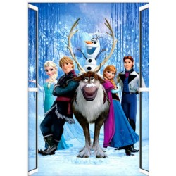 Frozen Party - Wall Sticker Poster (Portrait)