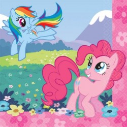 My Little Pony Napkins 10""