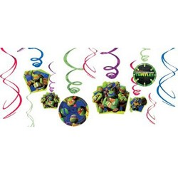 TMNT - Swirl Decorations
