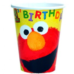 Sesame Street 1st Birthday Cups