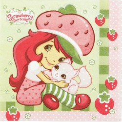 Strawberry Shortcake Lunch Napkins