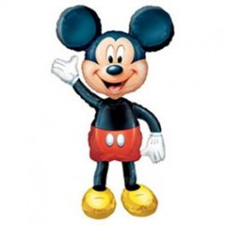 Mickey Mouse Foil Airwalker Balloon