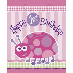 Ladybug First Birthday Lootbags