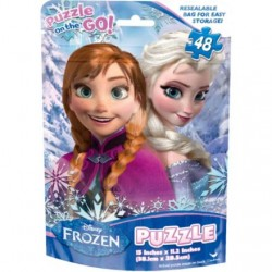 Disney Frozen Party Puzzle Bag (48 Pieces)