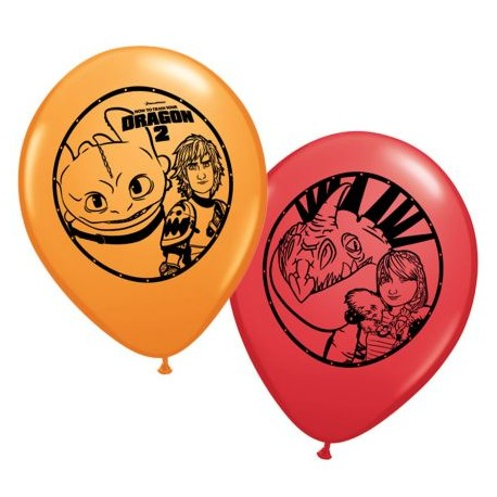 How to Train Your Dragon Latex Balloons