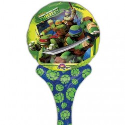 "TMNT - 12"" Inflate-A-Fun Balloon (Each)"