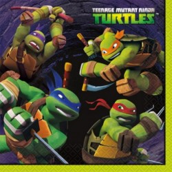 TMNT Ninja Turtles Lunch Napkins (16 Count)