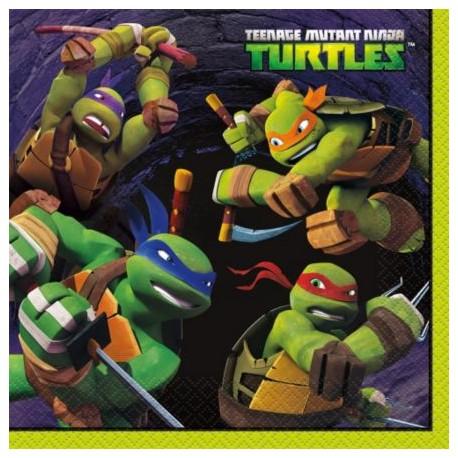 Ninja Turtles Lunch Napkins (16 Count)