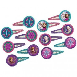 Disney Frozen Party Hair Clip Favors (12 Pack)