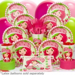 Strawberry Shortcake Deluxe kit Serves 8 Guests
