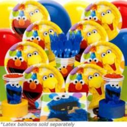 Sesame Street Birthday Deluxe kit Serves 8 Guests