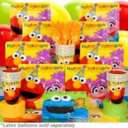 Sesame Street 1st Birthday Deluxe kit Serves 16 Guests