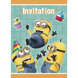 Minions Despicable Me Party Invites