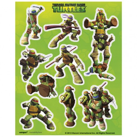 TMNT - Party Stickers!