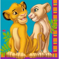 Lion King Napkins (16-pack)