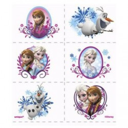 Frozen Tattoos (4 Sheets)