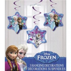 "Disney Frozen Hanging 26"" Swirl Decorations (3 Pack)"