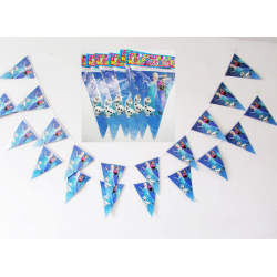Disney Frozen Elsa/Anna party decoration flags banners