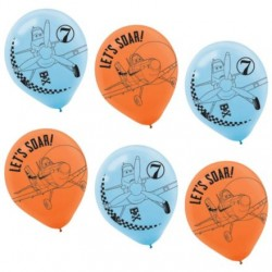 "Disney Planes 12"" Latex Balloons (6 Pack)"