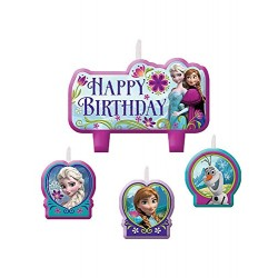 Disney Frozen Party Candle Set