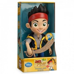 Disney Store Jake and the Never Land Pirates Jake Talking Figure Size 13""