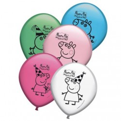 "Peppa Pig 12"" Latex Balloons (8 Pack)"