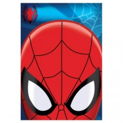 Spiderman Plastic Loot Bags (8 Pack)